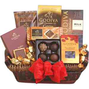 Godiva Holiday Signature Gift Basket