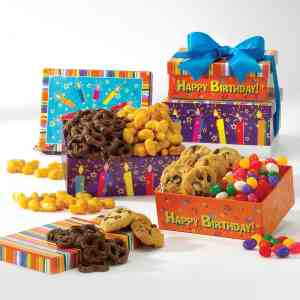 Happy Birthday Greetings Mini Tower - F10386