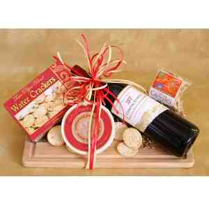 Cheese Board With Wine - CDE71056