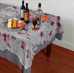 Bloody Gauze Table Cover  -  DEC579490
