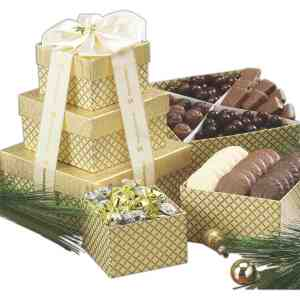 Chocolate Lovers Gift Tower - 663-D
