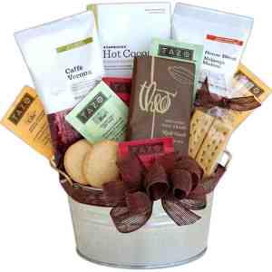 Cocoa & Coffee Gift Baske - t8006