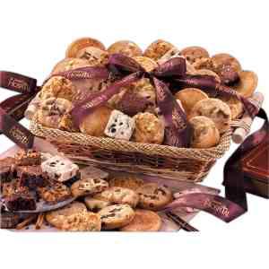 Home-Style Cookie & Brownie Basket-TwoDozen - CRH2277-Cookie