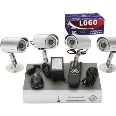 Do-it-Yourself 4-Channel Video Surveillance System - REL9780