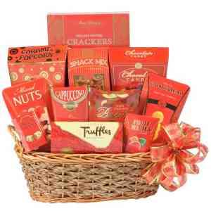 Holiday Office Break Gift Basket - N12111013