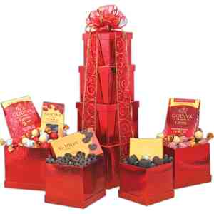 Tower Of Godiva Chocolate - 7980