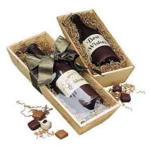 Chocolate Wine Bottle - A3000D