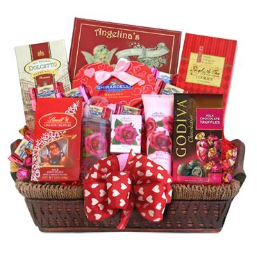 Be Mine Valentine Basket - 9520