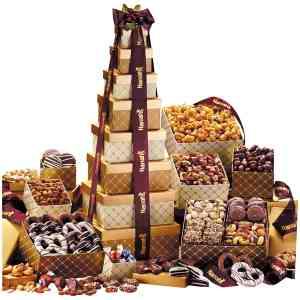 Golden Delights Ultimate Tower Of Indulgence - G8002SB-Food