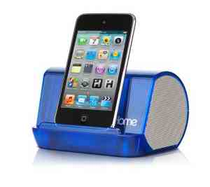 O'CrystalTunesO' Portable Speaker System - IHM9