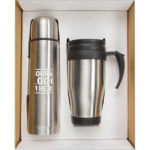 Thermo Bottle Mug Gift Set -