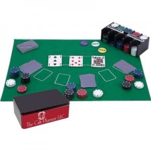 Maxam 208 PC Casino Style Texas Hold Em Poker Set RSP9228