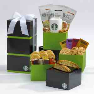 Starbucks Coffee & Tea Sweet Sampler Tower - F11604
