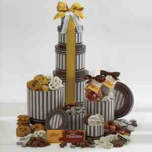 Chocolate Cravings Gift Tower F12730