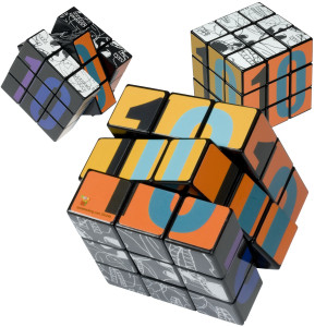 Express Rubik's (R) 9-Panel Full Custom Cube