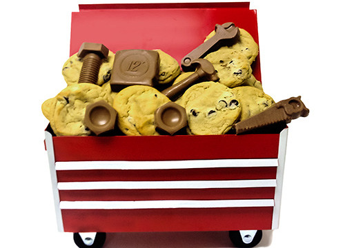 Unique Cookie And Themed Chocolate Rolling Tool Box On Sale Now