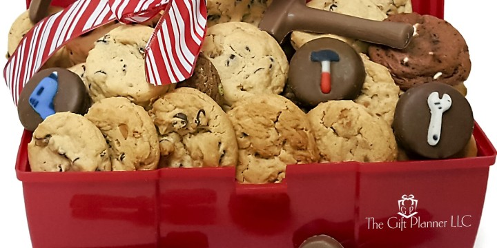 Introducing Brand New Corporate Construction Cookie And Chocolate Toolbox By The Gift Planner
