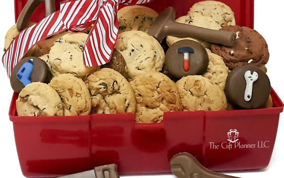 Check Out Our Corporate Construction Cookie And Chocolate Toolbox At The Gift Planner