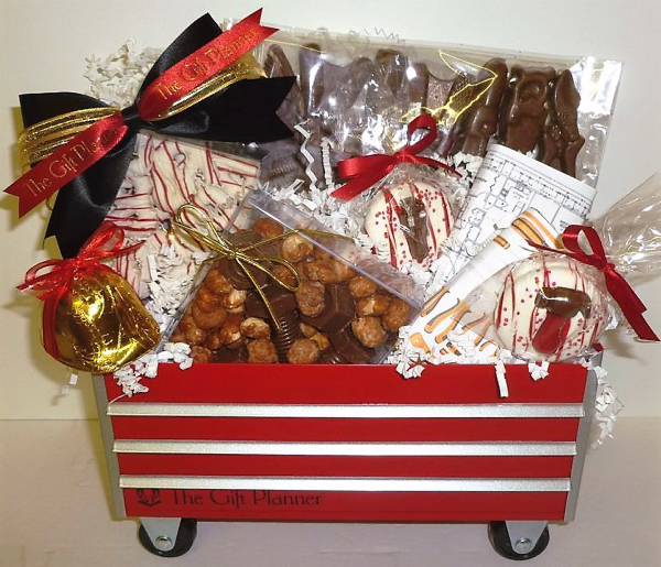 Best Little Red Chocolate Toolbox Gift Custom Made For You