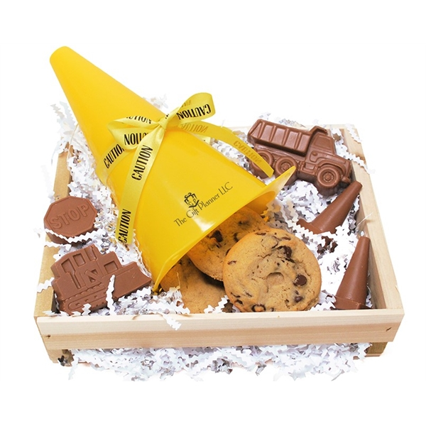 The Most Amazing Chocolate Safety Cone Construction Gifts