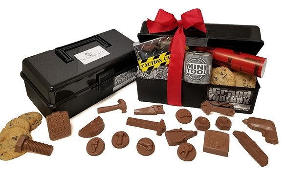 Chocolate Tools and Cookie Toolbox Perfect For Construction Companies
