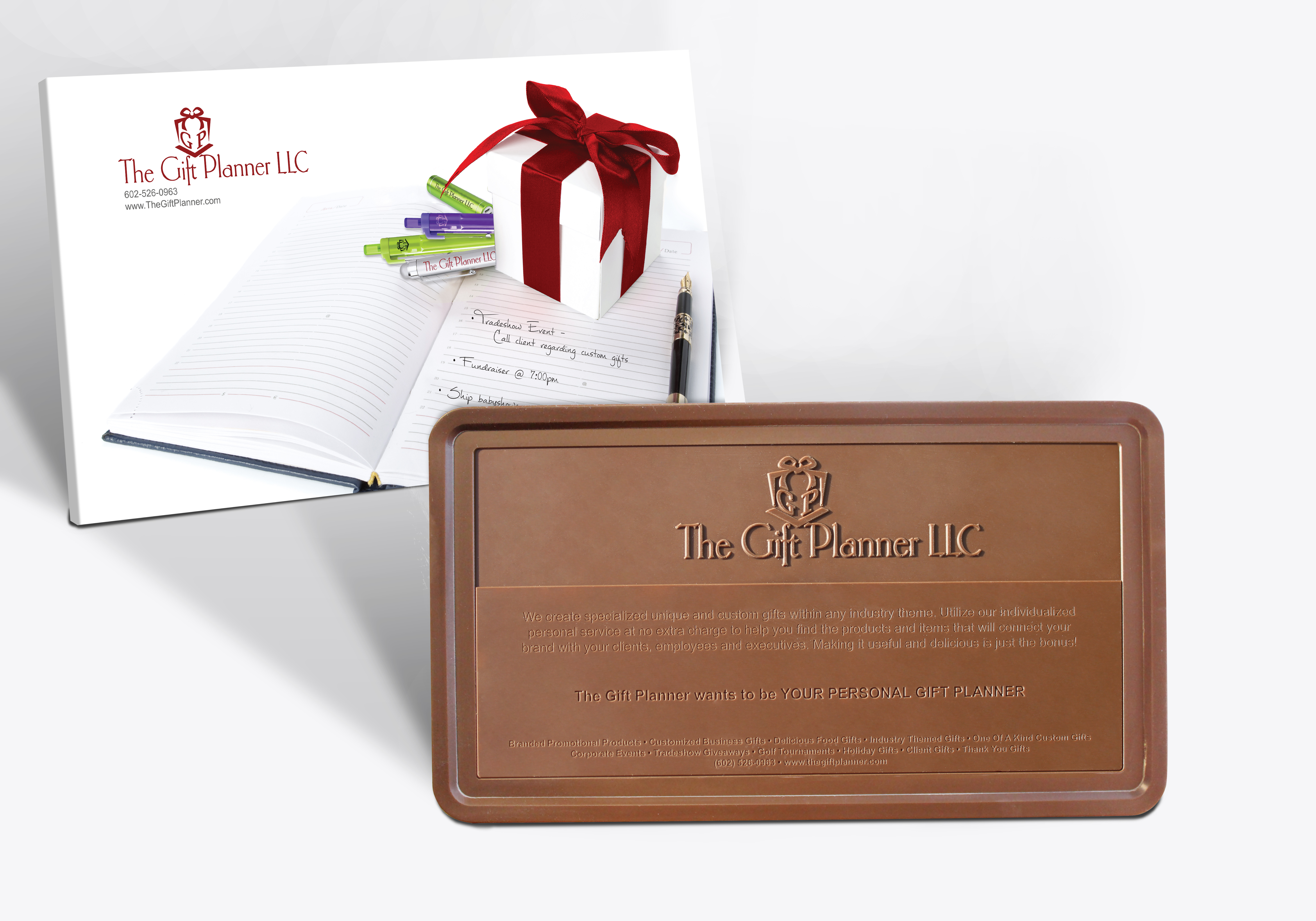 The Gift Planner Has Unique One Of A Kind Personalized Corporate ...