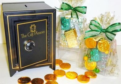 Chocolate Themed Money Safe with Delicious Coins