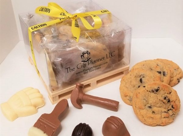 Chocolate and Cookie Tools La Pallet Gift Box