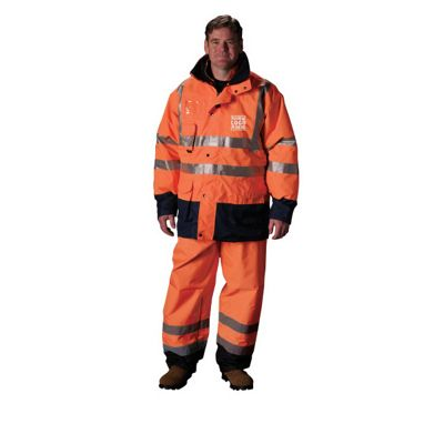 Hi-Vis ANSI Class 3 All Conditions 7 in 1 Jacket/Vest
