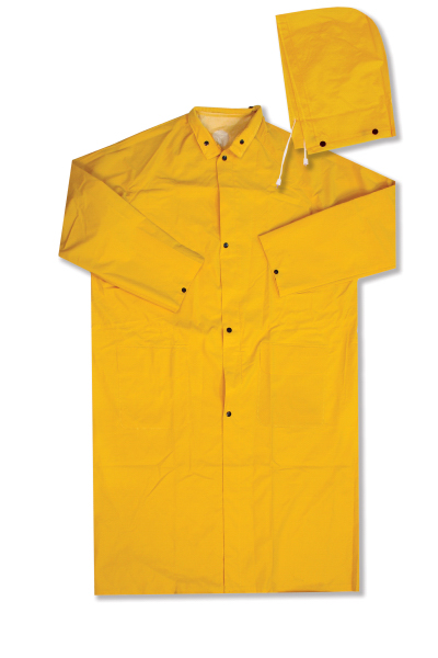 PVC Polyester Raincoat