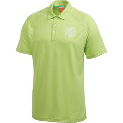 Men's Puma Golf Raglan Tech Crest SS Polo