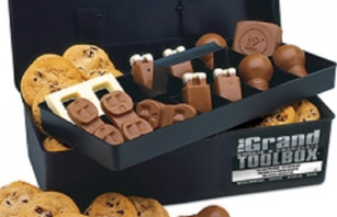 Amaze all with these chocolate tools, equipment, molded, branded (with your message or logo) chocolates as tasty treats for all to eat!