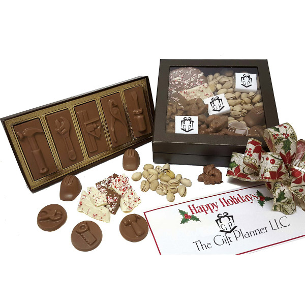 Chocolate Lover's Name Your Theme Gourmet Gift Box